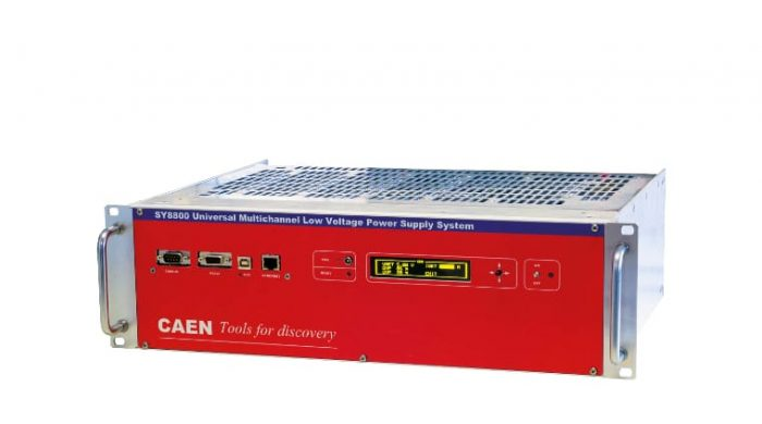 Low Voltage Power supplies - CAEN - Tools for Discovery
